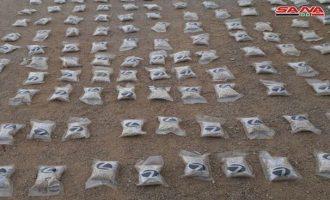 Φορτίο ενός εκατομμυρίου χαπιών Captagon κατάσχεσαν οι συριακές Αρχές