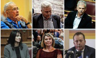 Στην κοινοβουλευτική πλειοψηφία οι έξι που έδωσαν ψήφο εμπιστοσύνης στην κυβέρνηση