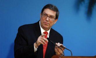 O υπουργός Εξωτερικών της Κούβας φώναξε τους ξένους διπλωμάτες για να τους μιλήσει για τη Βενεζουέλα