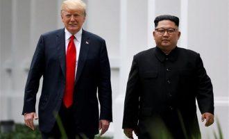 Κιμ Γιονγκ Ουν: Έχω «ειδική σχέση» με τον Τραμπ – Οι σύμβουλοί του φταίνε