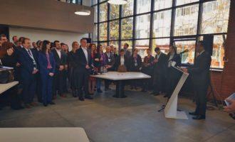Ο Νίκος Παππάς στα Σκόπια για τον «ψηφιακό μετασχηματισμό» της χώρας – Ευχαριστεί ο Ζάεφ