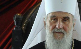 Ο Πατριάρχης των Σέρβων φοβάται ότι το Οικ. Πατριαρχείο θα αναγνωρίσει αυτοκέφαλη Αρχιεπισκοπή Αχρίδας