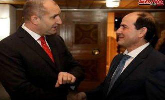 Ο διπλωμάτης της Συρίας στη Σόφια ευχαρίστησε τον Βούλγαρο πρόεδρο Ράντεφ