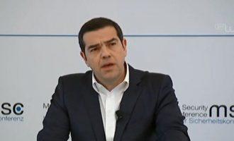 Αλέξης Τσίπρας: «Με τον Ζόραν Ζάεφ βρισκόμαστε στη σωστή πλευρά της Ιστορίας»
