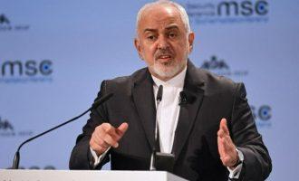 «Το Ισραήλ επιδιώκει πόλεμο με το Ιράν» δήλωσε ο Ζαρίφ