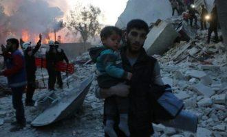Οι Ρώσοι βομβάρδισαν τη συριακή Αλ Κάιντα και μισθοφόρους του Ερντογάν