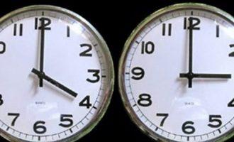 Καταργείται η αλλαγή της Ώρας – Ψηφίστηκε στην Ευρωβουλή