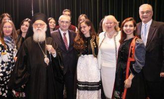 25η Μαρτίου στην Αλβανία – Η αλβανική ελίτ στη γιορτή της Πρεσβείας μας