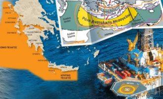 Yeni Safak: Η Τουρκία έχει «δικαιώματα» και στους υδρογονάνθρακες νότια της Κρήτης