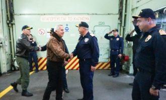 Αποστολάκης: Εγγυητής της ασφάλειας στην Ανατολική Μεσόγειο η Ελλάδα