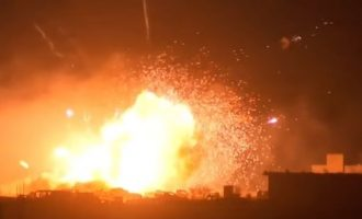 Οι Αμερικανοί «καίνε» τους τζιχαντιστές στη Μπαγούζ – Βίντεο τρόμου (βίντεο)