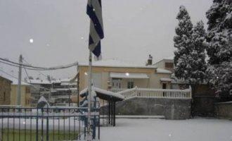 Ποια σχολεία θα είναι κλειστά την Τετάρτη λόγω κακοκαιρίας στη δυτική Μακεδονία