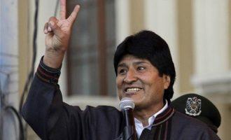 Ο πρόεδρος της Βολιβίας Έβο Μοράλες έρχεται στην Αθήνα