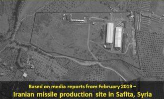 Το Ισραήλ «είδε» από δορυφόρο ιρανικό εργοστάσιο κατασκευής πυραύλων στη Συρία