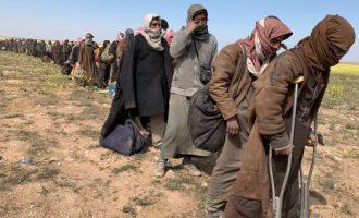 Οι Κούρδοι κρατάνε αιχμαλώτους 59 Γερμανούς τζιχαντιστές