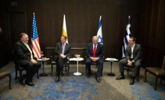 Ελλάδα, Κύπρος, Ισραήλ και ΗΠΑ δήλωσαν ότι θα αμυνθούν από κοινού σε οποιαδήποτε απειλή