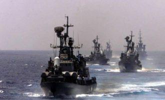 Βγήκε ο στόλος του Ισραήλ στην Αν. Μεσόγειο – Έτσι απαντούν στους Τούρκους τα παλικάρια