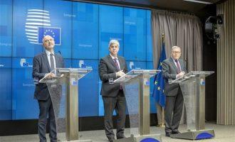 Σεντένο, Μοσκοβισί και Ρέγκλινγκ συμφώνησαν ότι η Ελλάδα σημείωσε μεγάλη πρόοδο