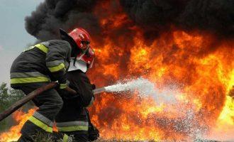 Τραγωδία στη Θεσσαλονίκη: Πυροσβέστης πέθανε την ώρα που προσπαθούσε να σβήσει τη φωτιά (φωτο)