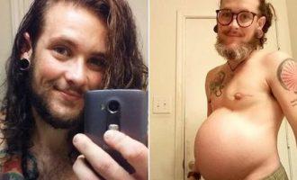 Τρανσέξουαλ άνδρας έμεινε έγκυος και γέννησε
