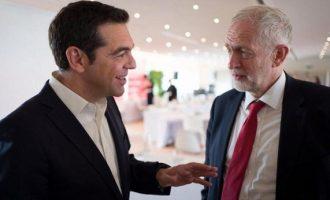 Ο Τσίπρας είδε Κόρμπιν στις Βρυξέλλες – Τι του είπε ο ηγέτης των Εργατικών