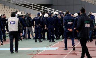 Οκτώ συλλήψεις για τα επεισόδια στο ΟΑΚΑ από οπαδούς του Παναθηναϊκού