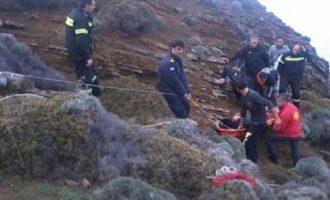 Τραγωδία στα Ιωάννινα: Νεκρός ο αστυνομικός που είχε πέσει σε χαράδρα
