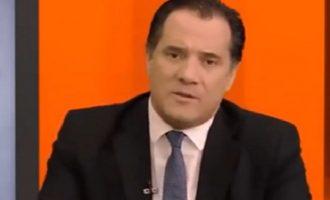 Άδωνις αλά… Παττακός: Να πέσουν οι κομμουνιστές που ξεπούλησαν την Ελλάδα (βίντεο)