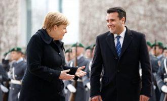 Die Welt: Η Μέρκελ θέλει να ανταμείψει τη Βόρεια Μακεδονία για την υποχωρητικότητα της στο ζήτημα της ονομασίας