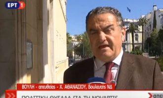 Δεν έχουν τον θεό τους! Χαρ. Αθανασίου (ΝΔ): Η μίζα είναι στα καθήκοντα του υπουργού! (βίντεο)