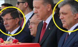 Θα γίνει μακελειό στην Τουρκία – Ο Ερντογάν στρέφεται κατά Νταβούτογλου και Γκιουλ