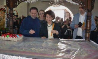 Η Γκορντάνα στον Επιτάφιο αναφέρθηκε πάλι σε σκέτη «Μακεδονία»