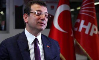 Καταγγελίες Ιμάμογλου για αλόγιστες δαπάνες στον δήμο Κωνσταντινούπολης