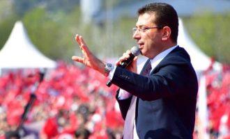 Ιμάμογλου: Θα κάνω ξανά την Κωνσταντινούπολη μια πόλη της τέχνης, του πολιτισμού, της λογικής
