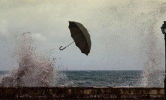 Καιρός: Έντονα φαινόμενα τη Δευτέρα – Σε ποιές περιοχές θα βρέξει