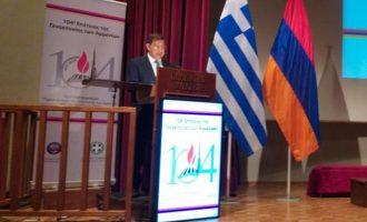 Χρ. Καπάταης: «Η Γενοκτονία των Αρμενίων δεν παραγράφεται»