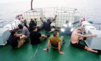 Αφέθηκαν ελεύθεροι οι Έλληνες που είχαν συλληφθεί για πειρατεία στη Νιγηρία