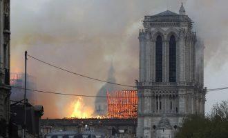 Τι δείχνουν οι έρευνες για τη φωτιά που έκαψε την Παναγία των Παρισίων