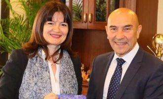 Η Ελληνίδα Πρόξενος συναντήθηκε με τον νέο δήμαρχο Σμύρνης
