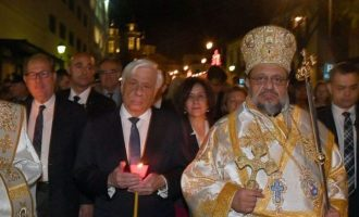 Πρ. Παυλόπουλος: «Το φως την Ανάστασης να φωτίσει τον ελληνικό λαό»