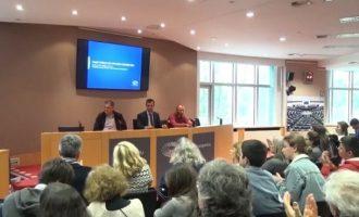Στην Ευρωβουλή οι τρεις ψαράδες που διέσωσαν πυρόπληκτους στο Μάτι