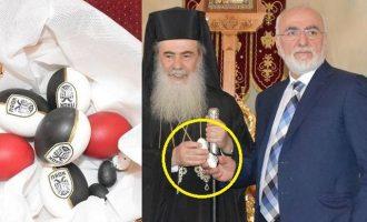 «Ποδόσφαιρο» έκανε το Πατριαρχείο ο Σαββίδης – Με αβγά ΠΑΟΚ στον Πατριάρχη – Έλεος!