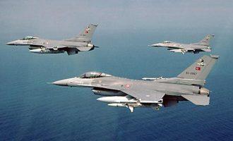Αιγαίο: 17 παραβιάσεις από οπλισμένα τουρκικά F-16 και επτά εμπλοκές