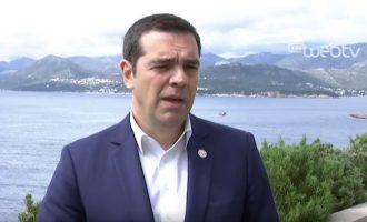 Αλέξης Τσίπρας από Ντουμπρόβνικ: «Η Ελλάδα επιβεβαίωσε τον ηγετικό ρόλο της»