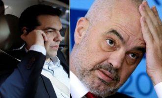 Η Αλβανία κινδυνεύει με «κόκκινη κάρτα» από την ΕΕ – Η πίεση Τσίπρα στον Ράμα