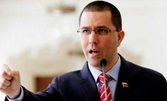 Χόρχε Αρεάσα (ΥΠΕΞ): H Κολομβία χρηματοδοτεί τις ενέργειες κατά της δημοκρατίας της Βενεζουέλας