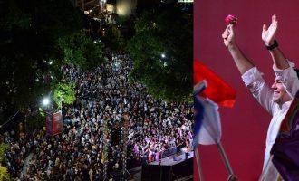 Τσίπρας σε Μητσοτάκη: Γεμίσαμε τη μεγάλη πλατεία στη Λάρισα και όχι την ιμιτασιόν (βίντεο)
