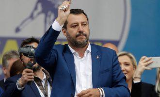 Ιταλία: Η Λέγκα του Ματέο Σαλβίνι αναδεικνύεται πρώτο κόμμα στις ευρωεκλογές