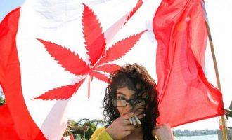 Διπλασιάστηκαν οι χρήστες μετά τη νομιμοποίηση κάνναβης στον Καναδά