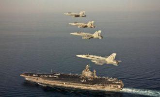 Το αεροπλανοφόρο USS Abraham Lincoln πλέει προς Ιράν για να διαμηνύσει «αμείωτη δύναμη»